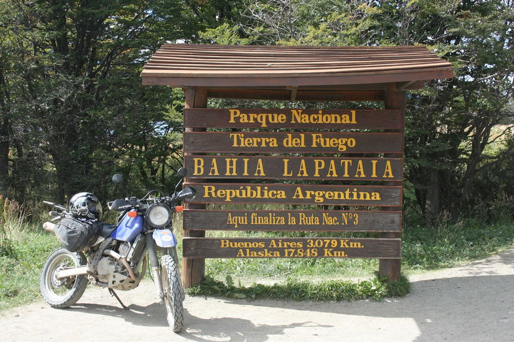 Tierra del Fuego National Park near Ushuaia Argentina, the city at the bottom of the world