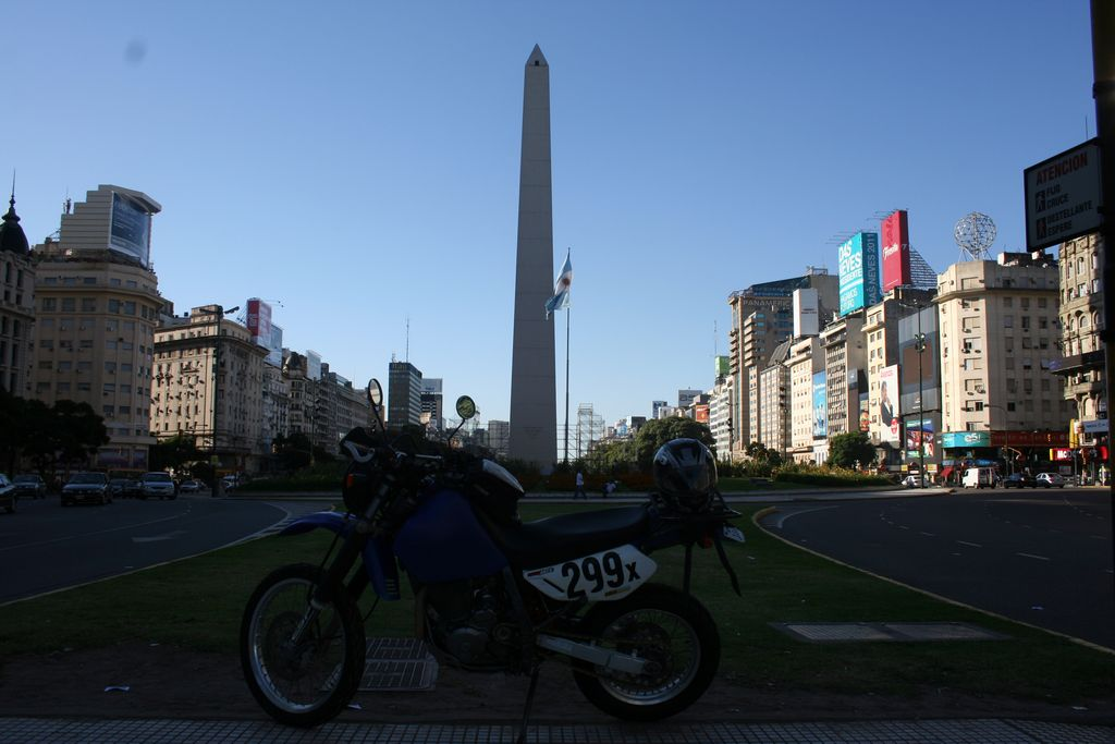 Buenos Aires Argentina - the Obelisk