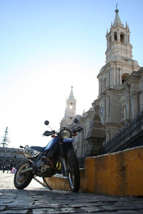 Basilica Cathedral in Arequipa Peru