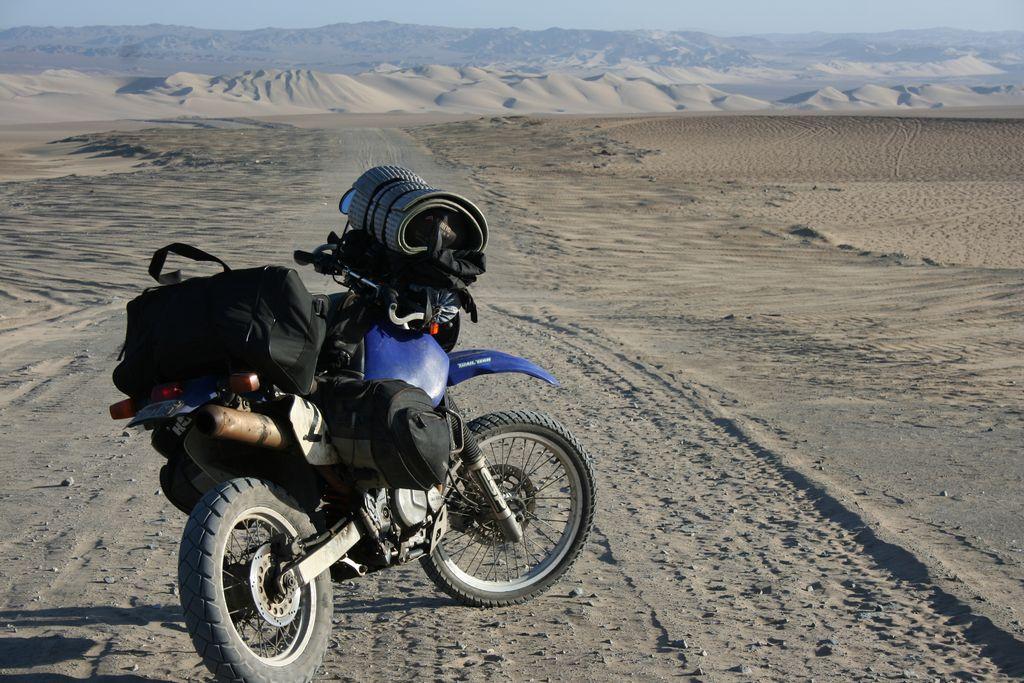 Sand Dunes near Huacahina Peru