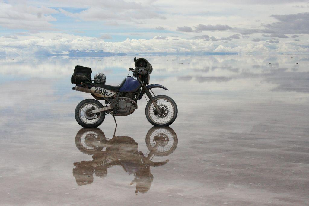 Uyuni Salar in Bolivia