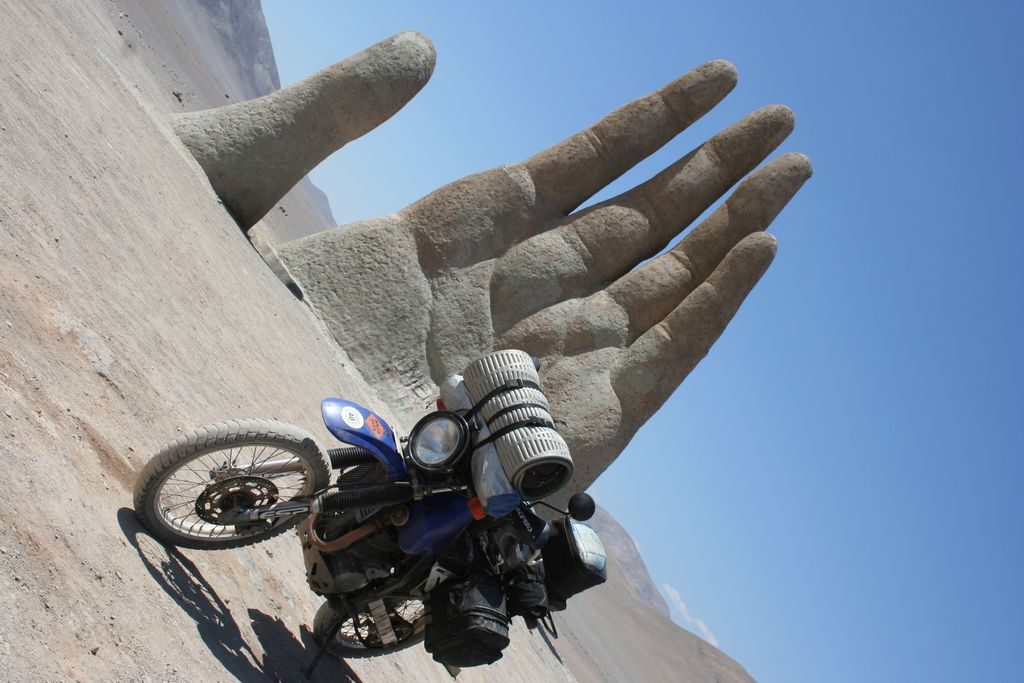 The Hand of the Desert - Chile